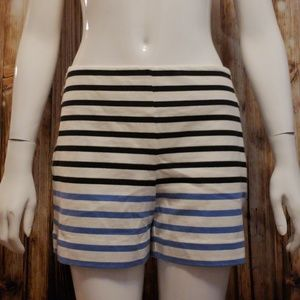 Loft high waisted striped cotton sailor shorts